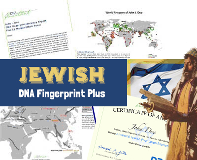 Jewish DNA Fingerprint Plus