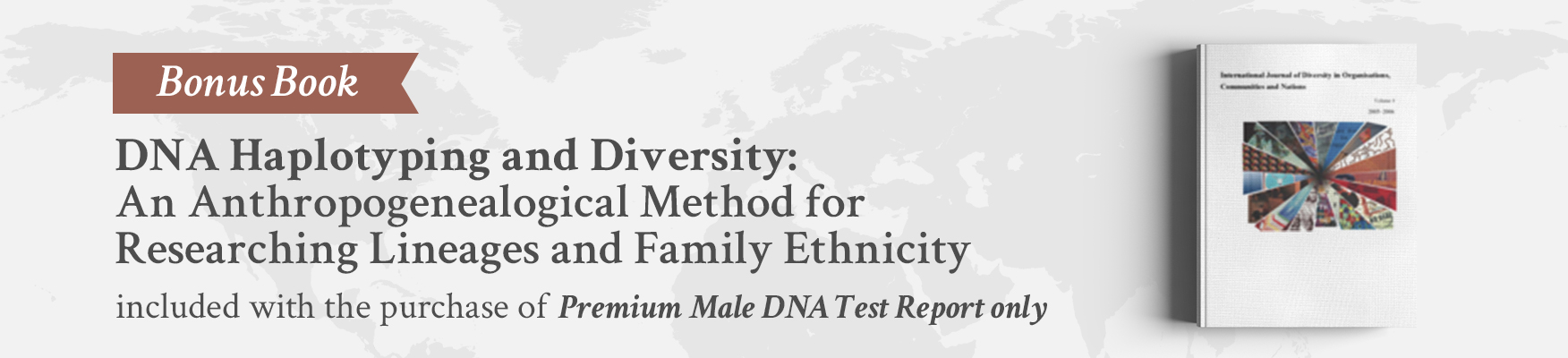 premium male dna test report only