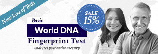 Basic World DNA Fingerprint Test