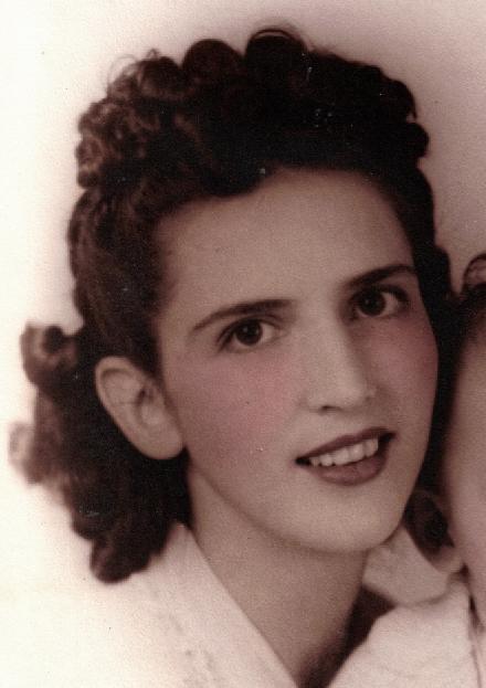Melungeon descendant Bessie Cooper Yates at age 25