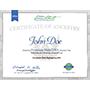 Deluxe Cherokee Match Certificate