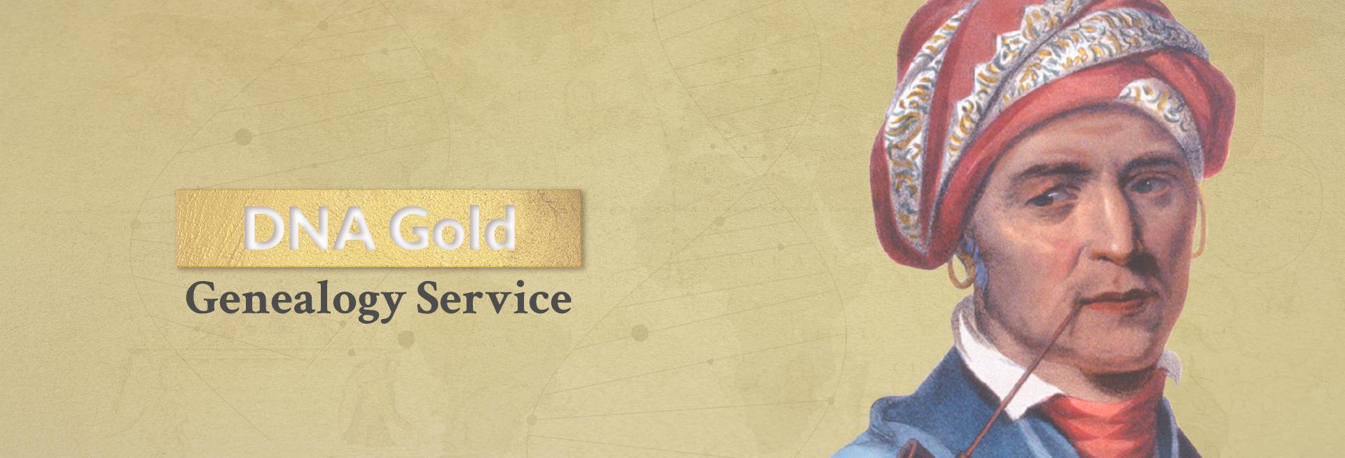 DNA Gold Genealogy Service