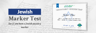 Jewish Marker Test Only $99