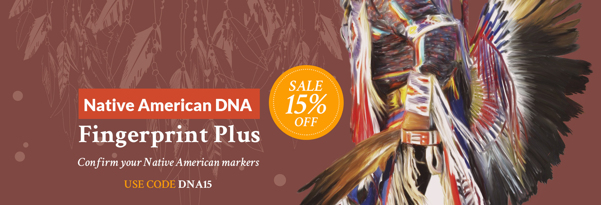 Native American DNA offer