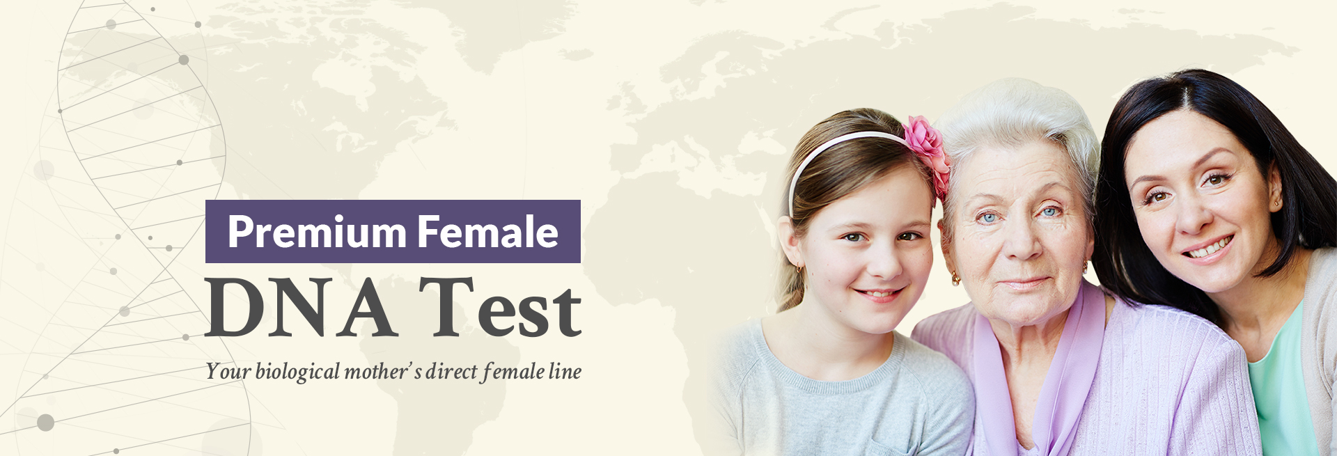 Premium Female DNA Test