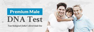 Premium Male DNA Test Y-DNA Promo