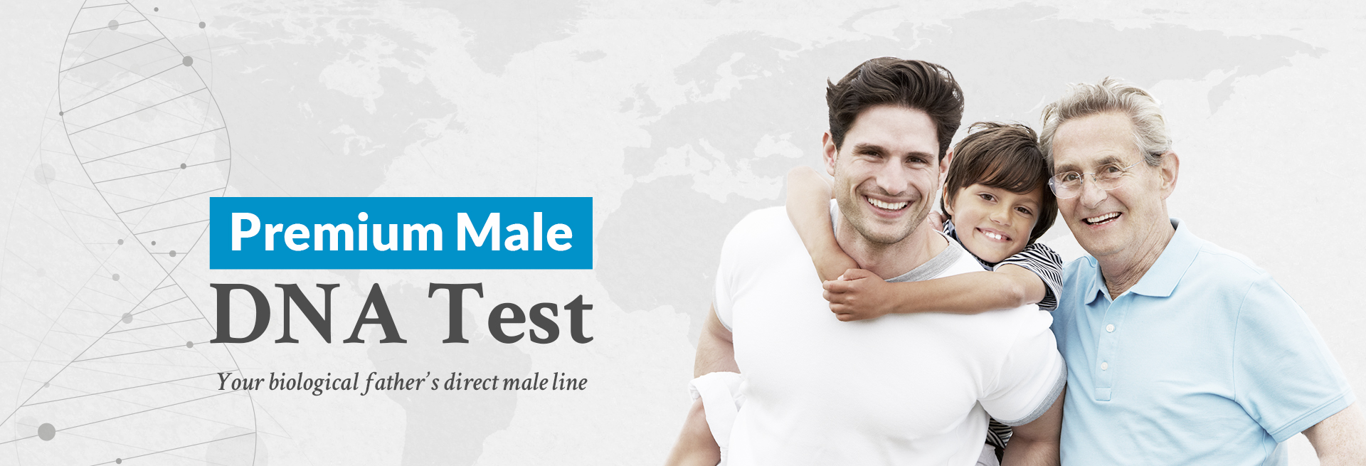 Premium Male DNA Test