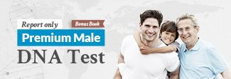 Premium Male DNA Report Only Y-DNA