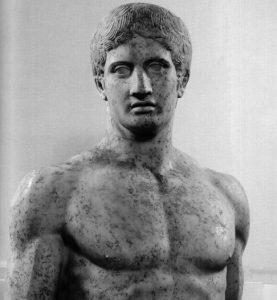 Bust of Doryphorus