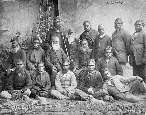 Aboriginal australian men