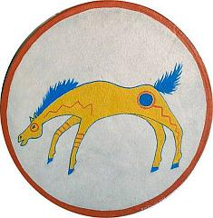 Indian Horse Symbol Apache