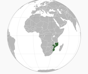 Location Mozambique