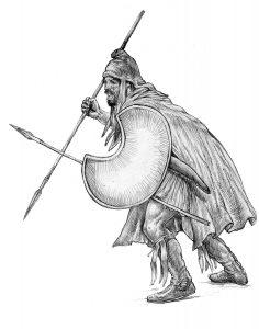The Scythian Gene Trak Peltasta