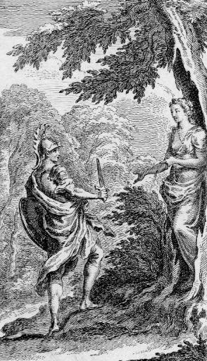 king arthur in an eighteenth century illustration