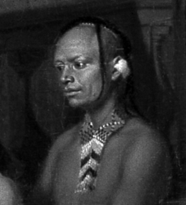 tistoe, or Tathtowe, one of the seven Cherokees who visited the British king George II with Sir Alexander Cumming in 1730