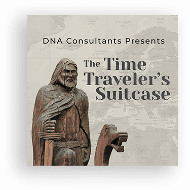 the time travelers suitecase cover podcast