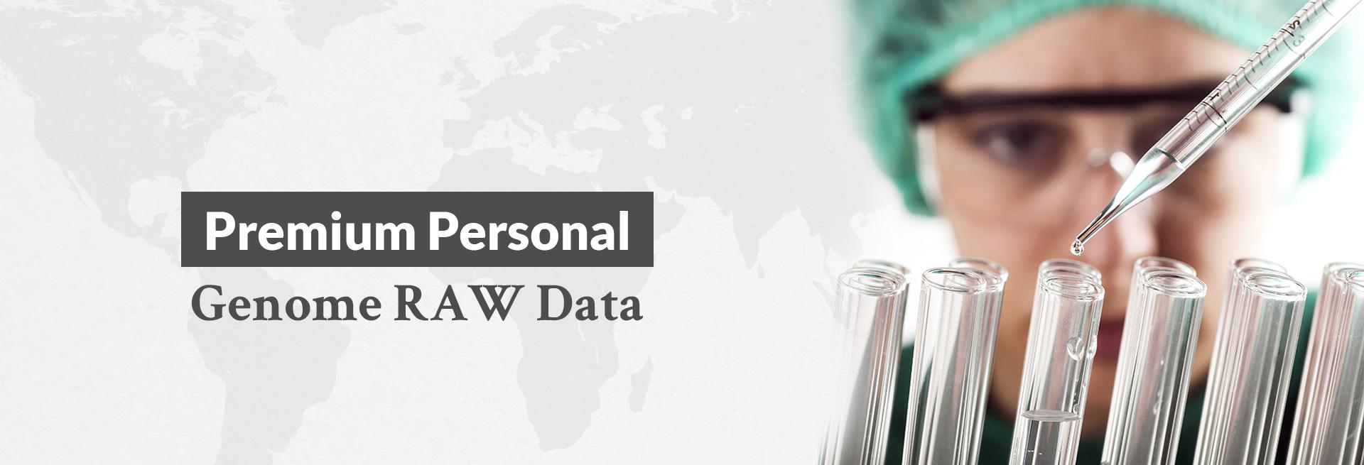 Premium Personal Genome RAW Data