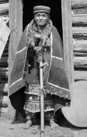 Charlie Skookum, and Tagish medicine man, taken in 1914