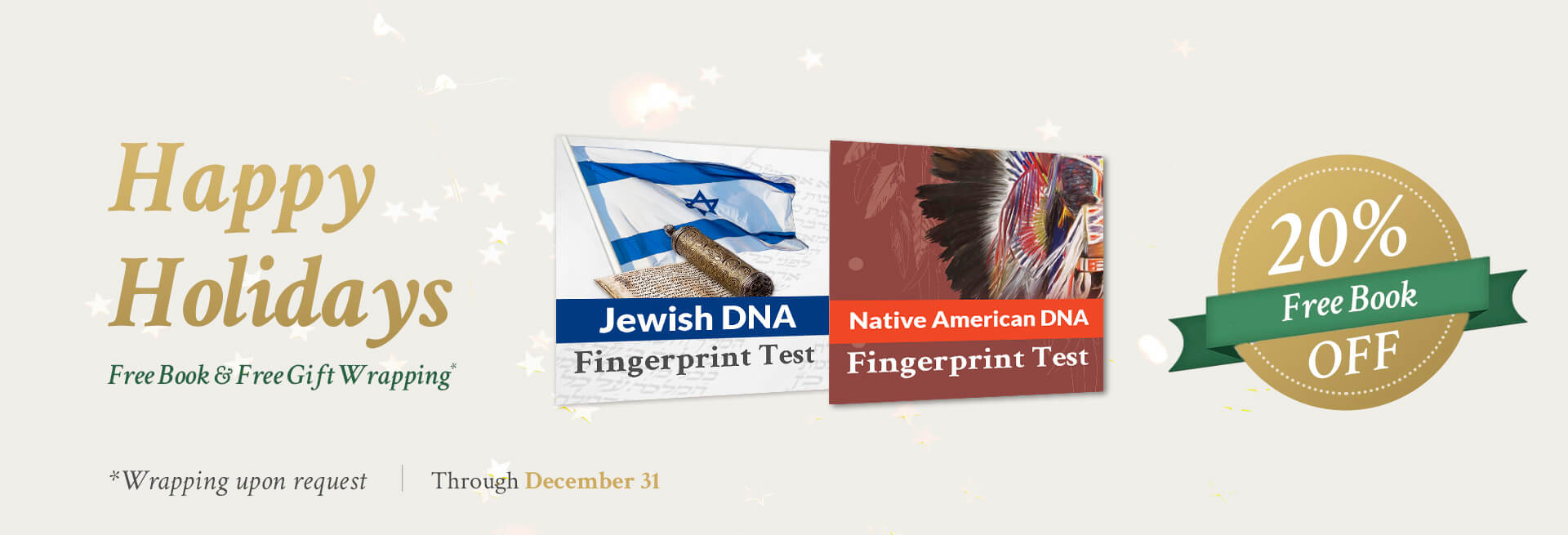 Jewish and Native Promo Holiday 2019 - DNA Consultants