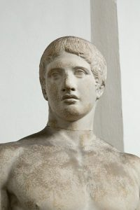 Greek sculptor Polycleitus