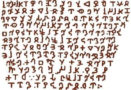 Apalache Writing System