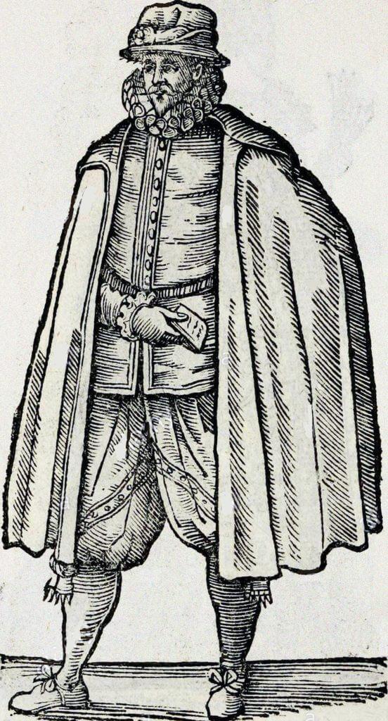 Merchant's cloak