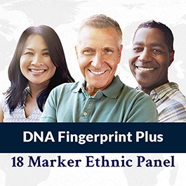 DNA FINGERPRINT PLUS 18 MARKER ETHNIC PANEL
