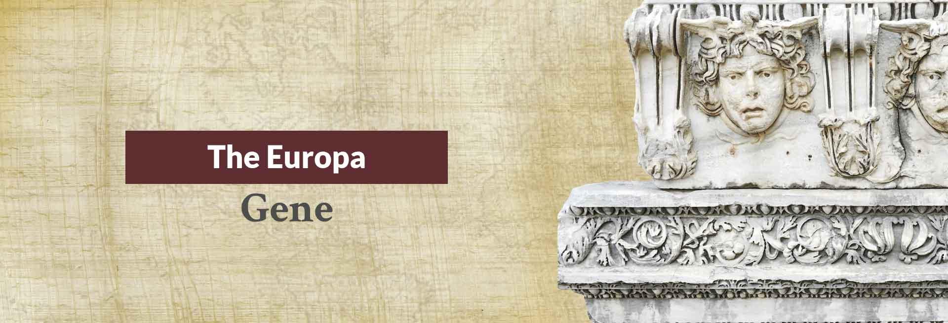 The Europa Gene Banner