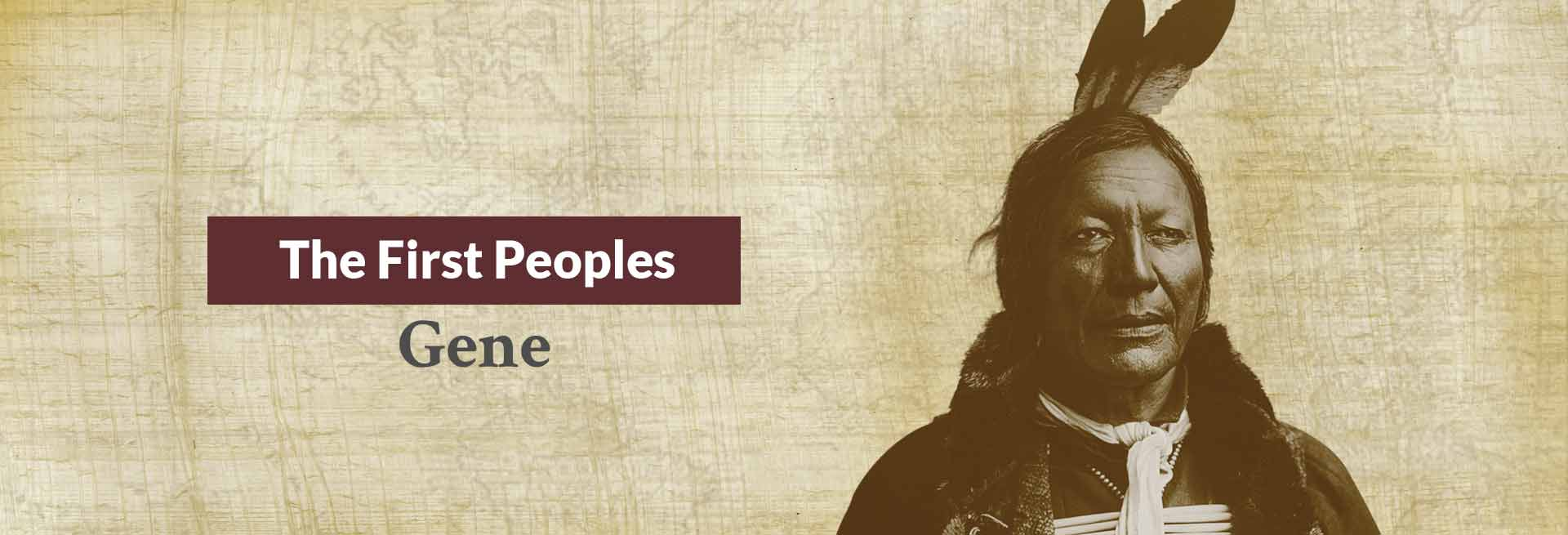 The First Peoples Gene Banner