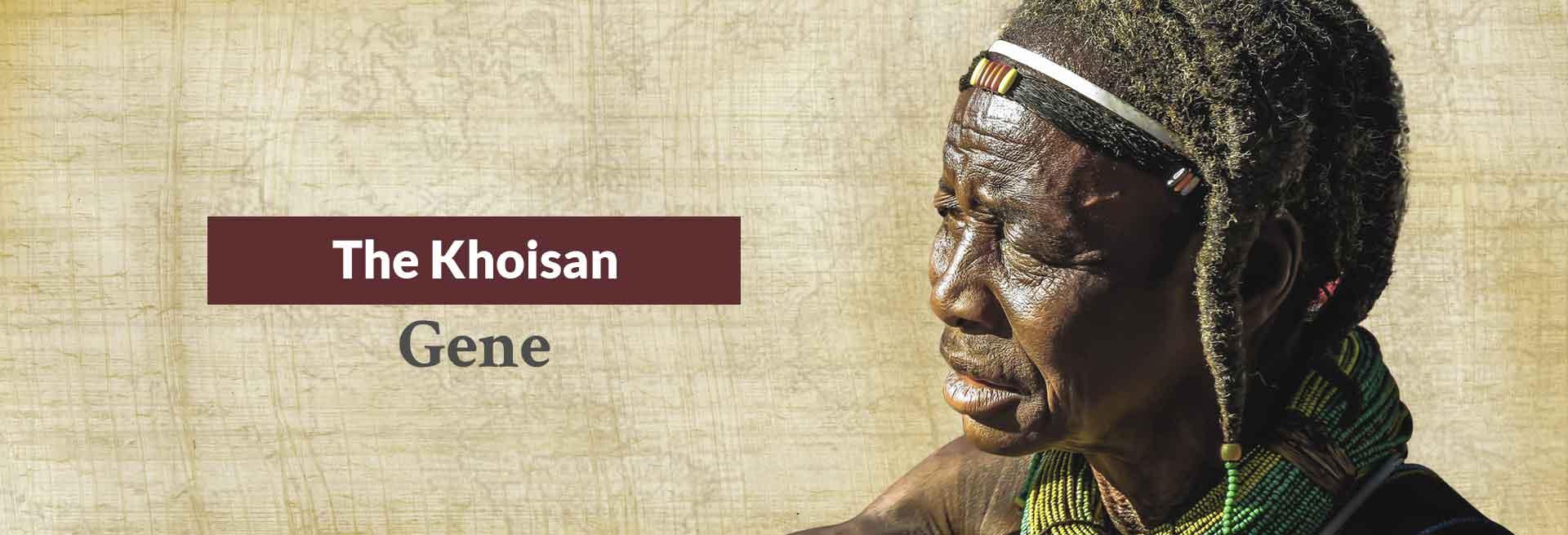 The Khoisan Gene Banner