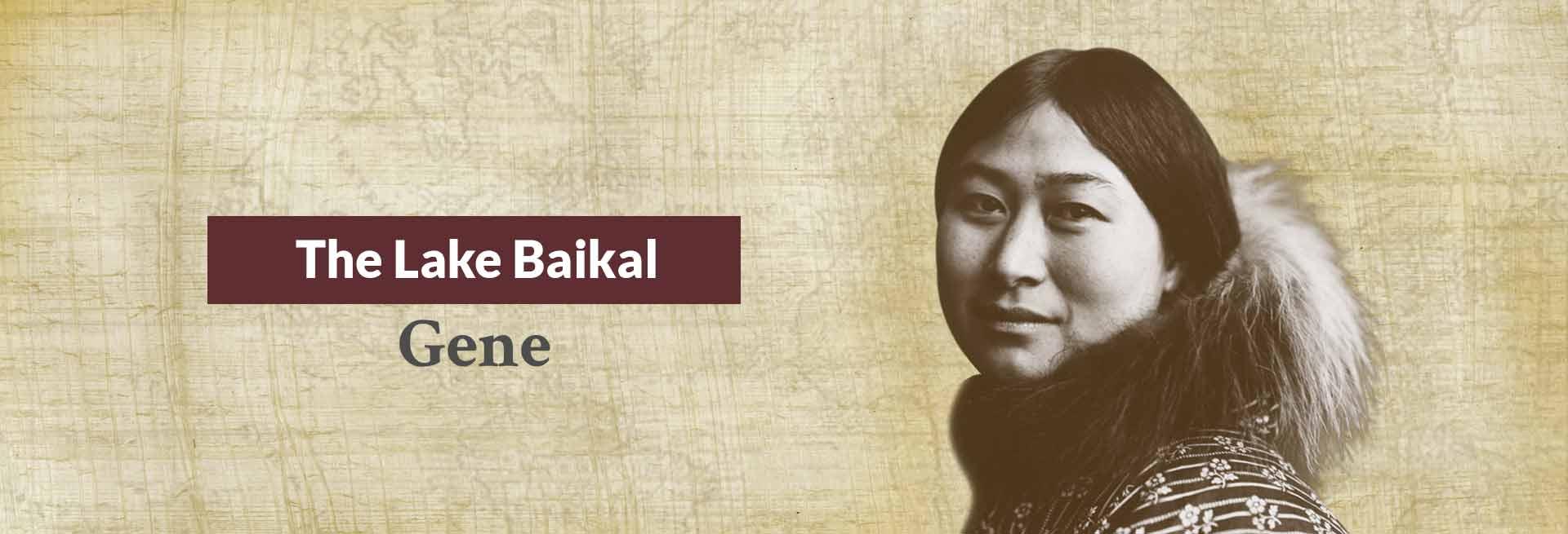 The Lake Baikal Gene Banner