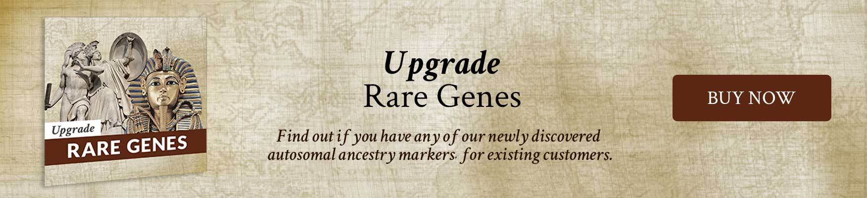 upgrade rare genes from history banner post