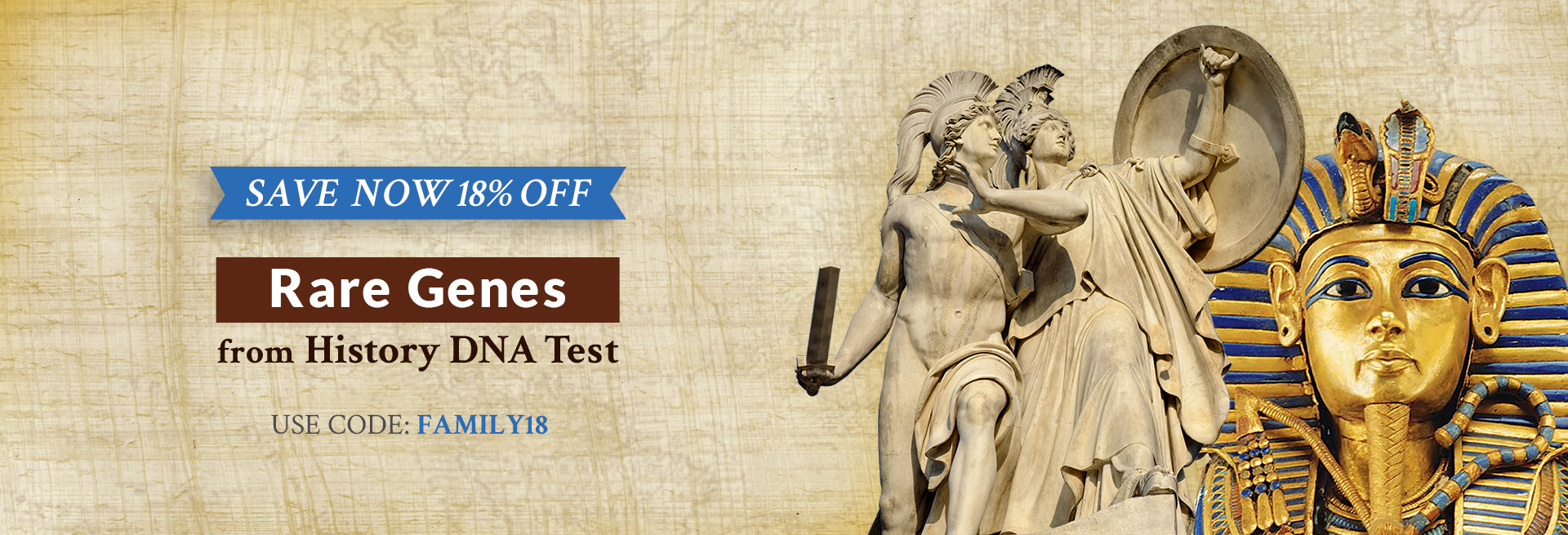 Rare Genes from History Save now 18% off